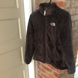 North Face Fuzzy Fleece - Chocolate Brown